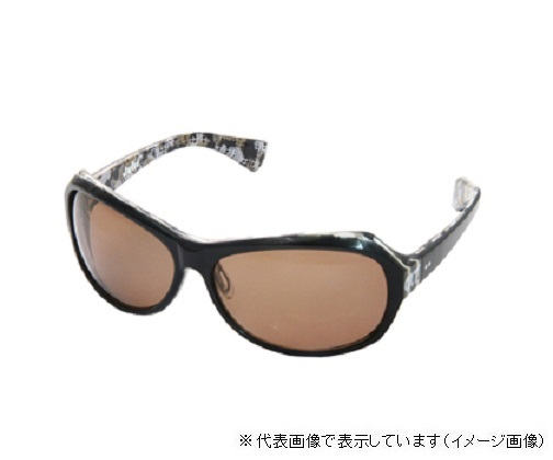 CLT偏光グラス Julii(ジュリ) ブラックブラウン/コパー