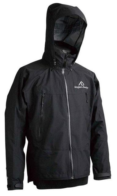 【ポイントアップ 4/1 10:00~4/8 09:59】【特価】アングラーズデザイン ADR-09 アルティメイトレインジャケット 3L ブラック