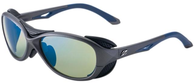 ZEAL OPTICS ジールオプティクス 偏光サングラス BATLER(バトラー) F-1724 GMネイビー レンズ:イーズグリーン/ブルーミラー