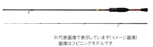 ダイワ 18月下美人MX 72MLB・V (ベイト2ピース)