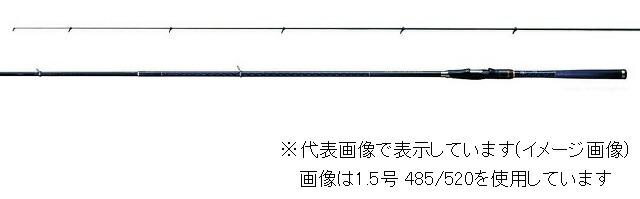 シマノ ツインパルサー SZ2 1号 485/520