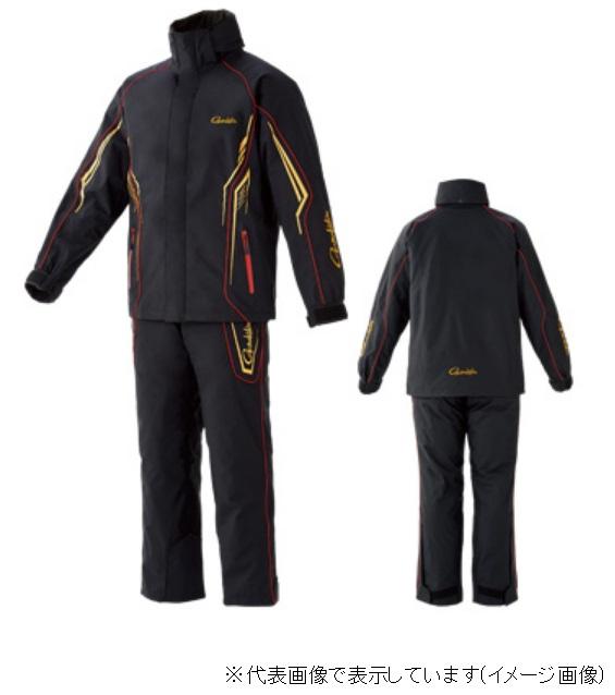 がまかつ GM3525 オールウェザースーツ ブラック ゴールド M キャッシュレス5%還元対象 白寿祝 SBおゆうぎ会 年末 開店祝