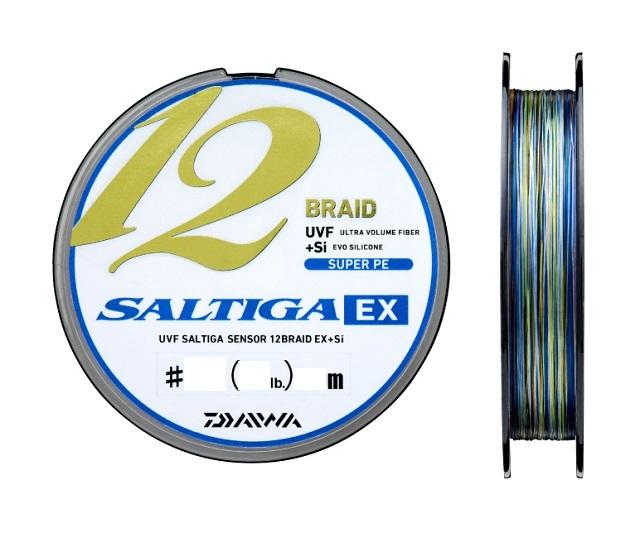 ダイワ ソルティガセンサー 12ブレイドEX+Si 1.5号-600M