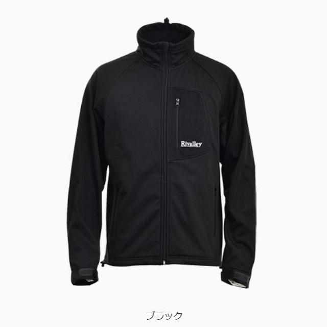 双進 RV(リバレイ) ウィンドプルーフジャケット LL ブラック