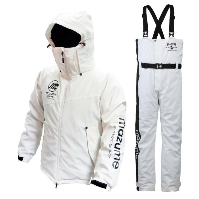 mazume(マズメ) MZFW-384 ラフウォーター オールウェザースーツ M ホワイト