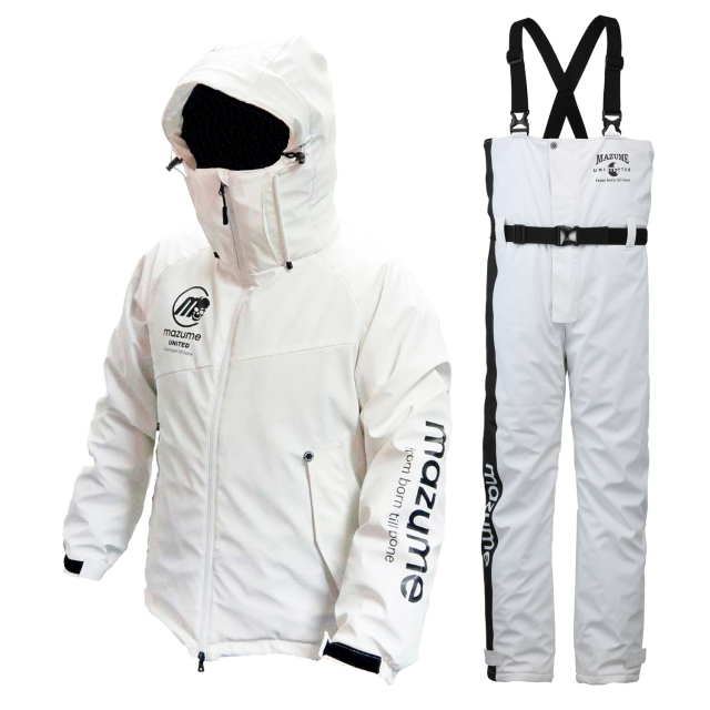 mazume(マズメ) MZFW-384 ラフウォーター オールウェザースーツ LL ホワイト