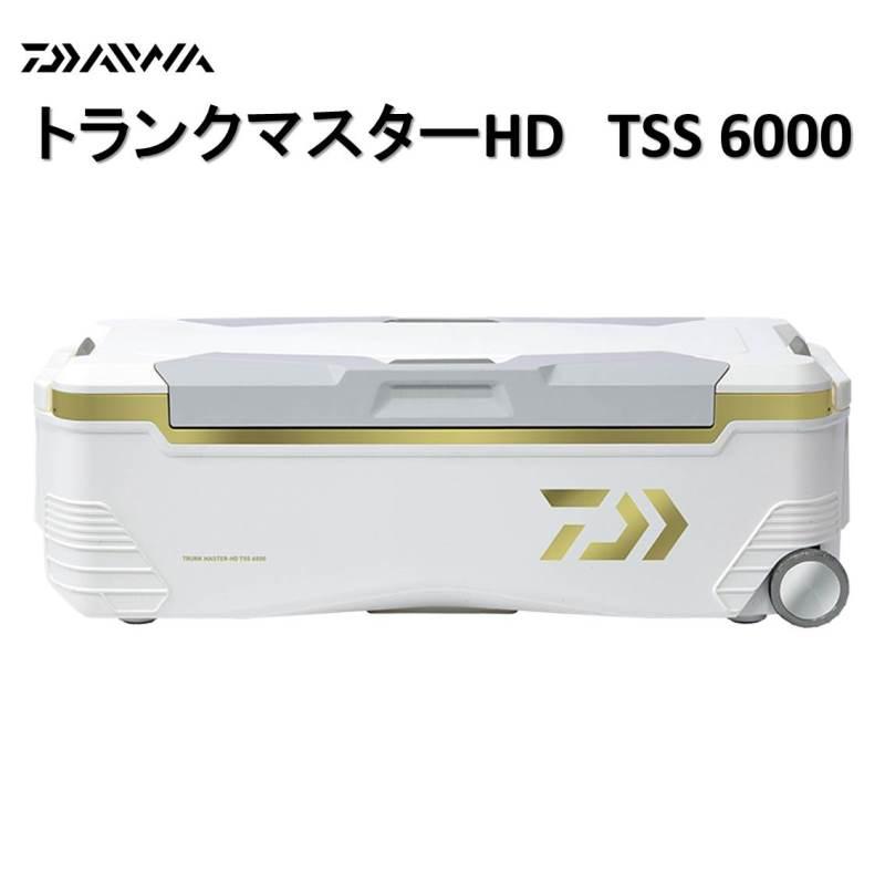 【お買い物マラソン最大43倍!要エントリー】ダイワ クーラーボックス トランクマスター HD TSS 6000 Sゴールド