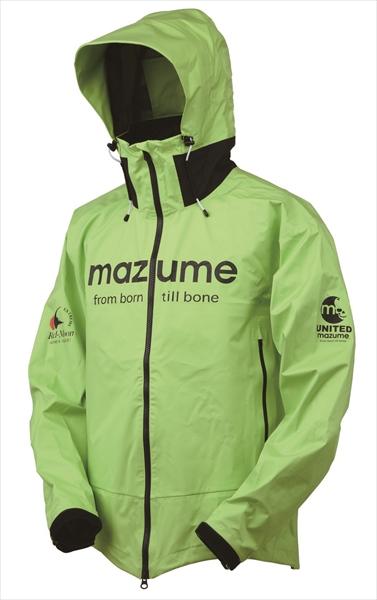 【お買い物マラソン 4月】(予約品) マズメ(mazume) MZRJ-357 レッドムーンレインジャケットVer2 ライム LL (4月-5月発売予定) ※他商品同時注文不可【4/9 20:00~4/16 01:59】