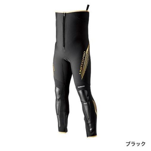 鮎タイツ シマノ タイツ LTDプロ ブラック LLB