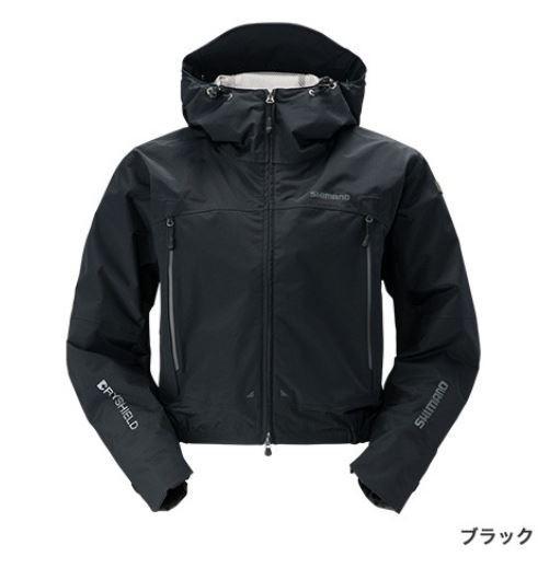 【エントリーでポイントup】 シマノ  DSショートレイン ブラック M 【期間 6月1日 0:00~6月1日 23:59】