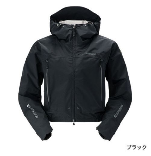 【ポイントアップ 4/1 10:00~4/8 09:59】シマノ DSショートレイン ブラック 2XL