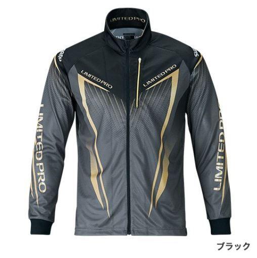 【ポイントアップ 4/1 10:00~4/8 09:59】シマノ フルジップシャツ LTDプロ ブラック L (長袖)