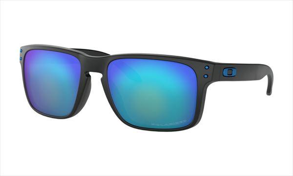 オークリー HOLBROOK フレーム:マットブラックプリズム レンズ:Prizm Sapphire Polarized 偏光サングラス