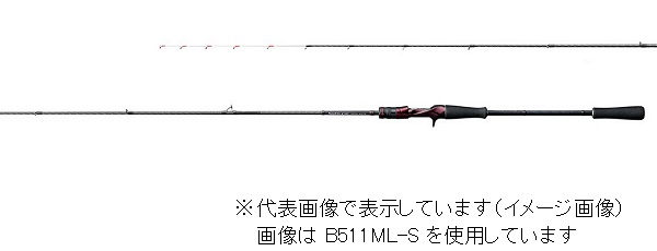 シマノ セフィアCI4+ メタルスッテ B511L-S (ベイト 2ピース)