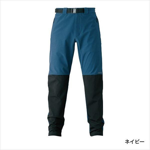 シマノ WP-045S 防風ストレッチパンツ ネイビー L