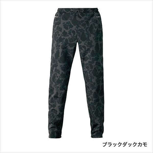 シマノ WP-255S XEFO(ゼフォー) DURASTデュラスト ジョガーパンツ ブラックカモ 2XL