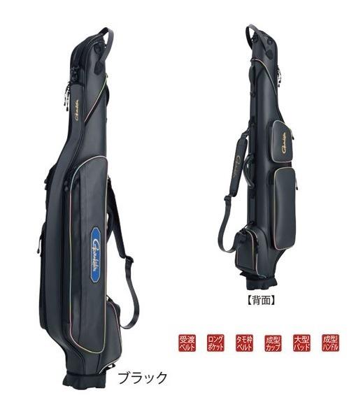 がまかつ がま磯ロッドケース(チヌスペシャル) GC284 ブラック