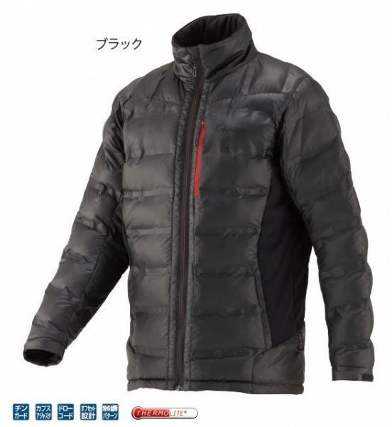 がまかつ FBジャケット(サーモライト) GM3602 ブラック S