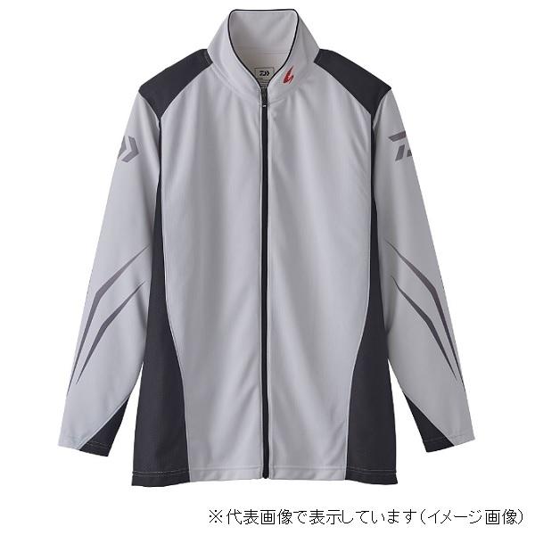 ダイワ スペシャル ウィックセンサー フルジップ長袖メッシュシャツ DE-72020 ホワイト M