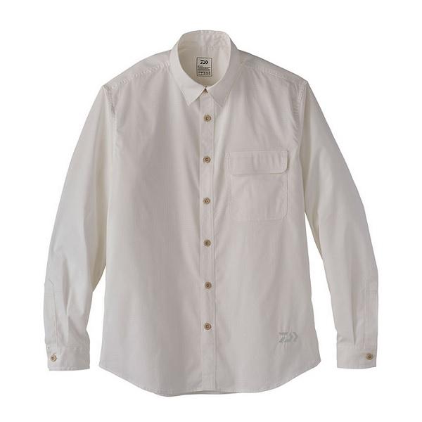 ダイワ DE-88020 クールマックス ストレッチ シャツ ホワイト XL