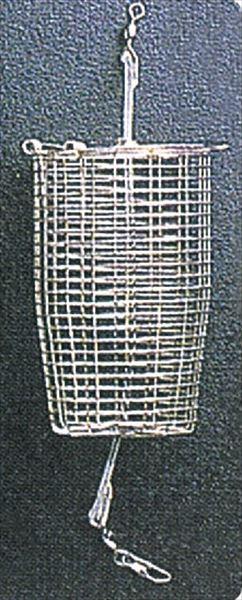 カゴ堤防用 ☆新作入荷☆新品 マルシン漁具 トラスト コマセカゴ アジサイB 大大