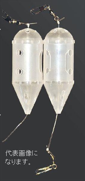 カゴ堤防用 マルシン漁具 コマセカゴ S 有名な 高品質 白ロケットテグス付