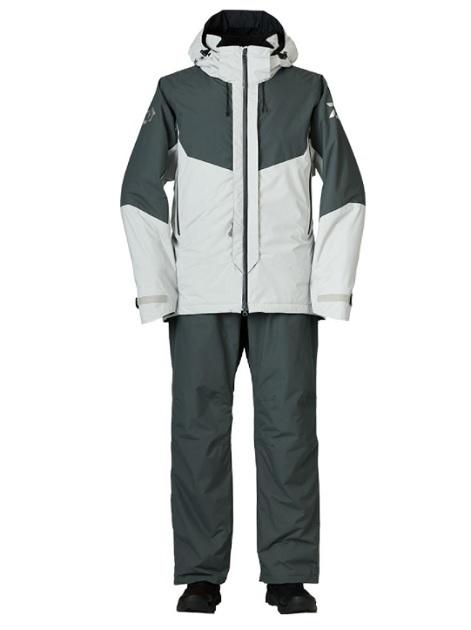 ダイワ 防寒服アウター DW-3421 レインマックス ハイパー コンビアップ ハイロフトウィンタースーツ ライトグレー L