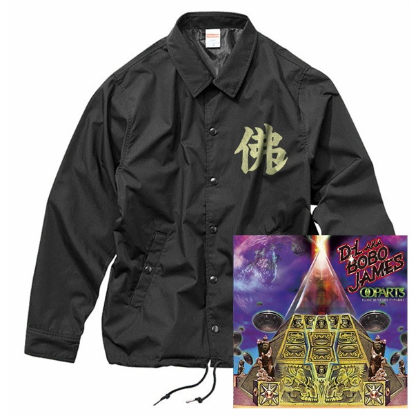 D.L a.k.a BOBO JAMES / OOPARTS (LOST 10 YEARS ブッダの遺産) (CD+COACH JACKET [BLACK×IVORY])