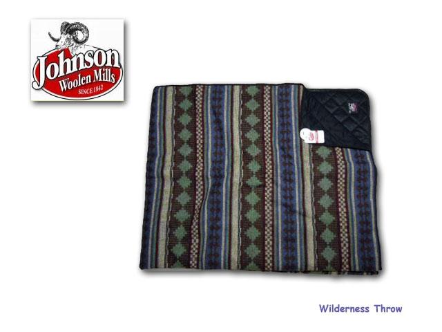 【送料無料】【Johnson Woolen Mills】-Wilderness Throw