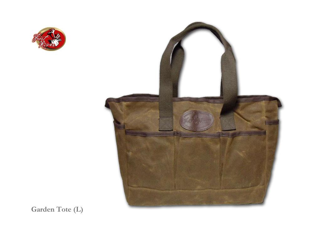 【送料無料】【FROST RIVER】フロストリバー Garden Tote(Large)ワックスドコットンキャンバス・トートバッグ