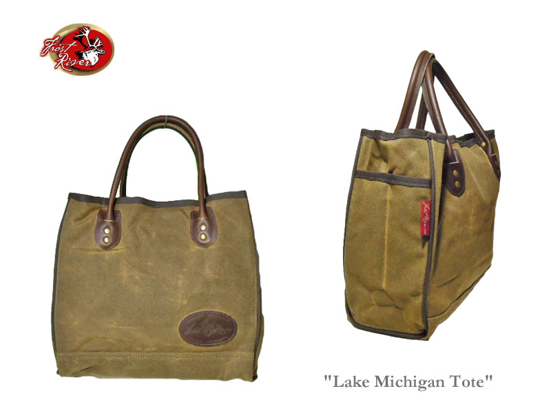 【送料無料】【FROST RIVER】フロストリバー Standard Lake Michigan Tote-Small- スタンダード・レイク・ミシガン・トートバッグ