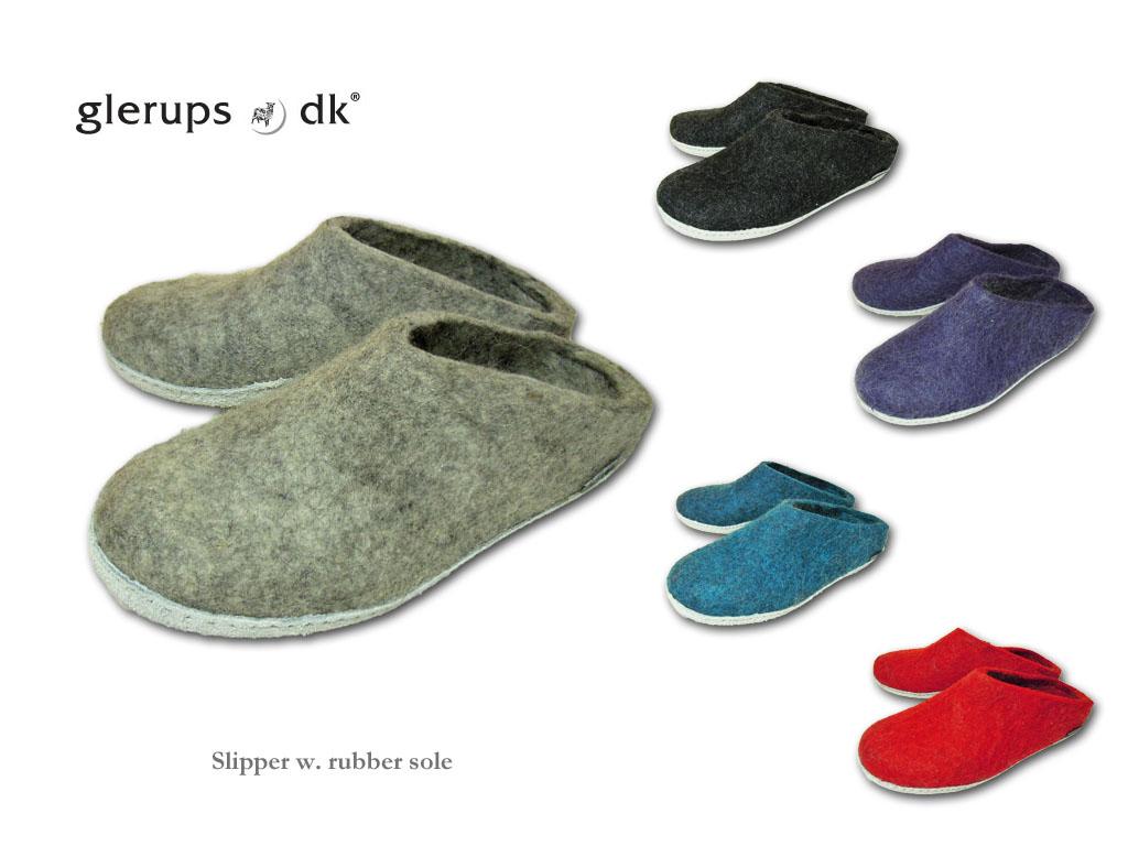 【送料無料】【glerups dk】Open Heelグリオプス・デンマークが生んだルームシューズ