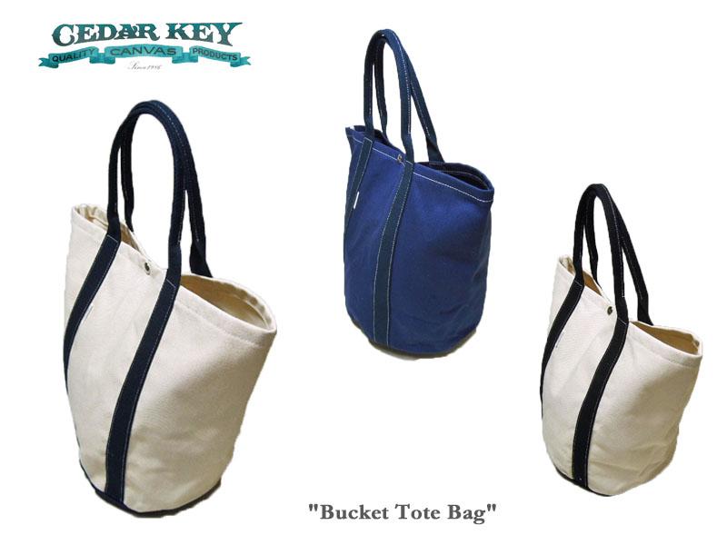 <送料無料>【Cedar Key】シダーキー Backet Tote Bagキャンバス・バケツ型トートバッグ
