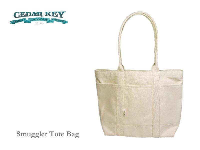 【送料無料】【Cedar Key】シダーキー Smuggler Tote Bag スマグラートートバッグ・ナチュラル