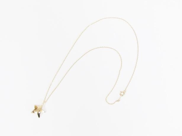 全品送料無料 ACE by morizane エースバイモリザネ メンズ star necklace NO:AG920103 18k plated ハンドメイド smtb-TK 新作 人気 スターネックレスゴールド gold 公式