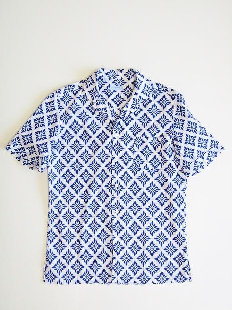 全品送料無料 GIAMPAOLO ジャンパオロ オリジナル smtb-TK メンズ お得クーポン発行中 半袖オープンカラーシャツ