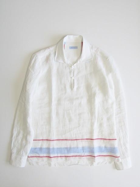 【全品送料無料!】GIAMPAOLO ジャンパオロ メンズ リネンカプリシャツ【smtb-TK】
