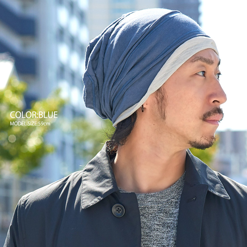 The SHU Gauze design from Charm and Grace - a loose ventilating beanie -  Extra Slouch Style Beanie Hat Knit. Japanese Fashion for Men and Women 1bf62541d6a