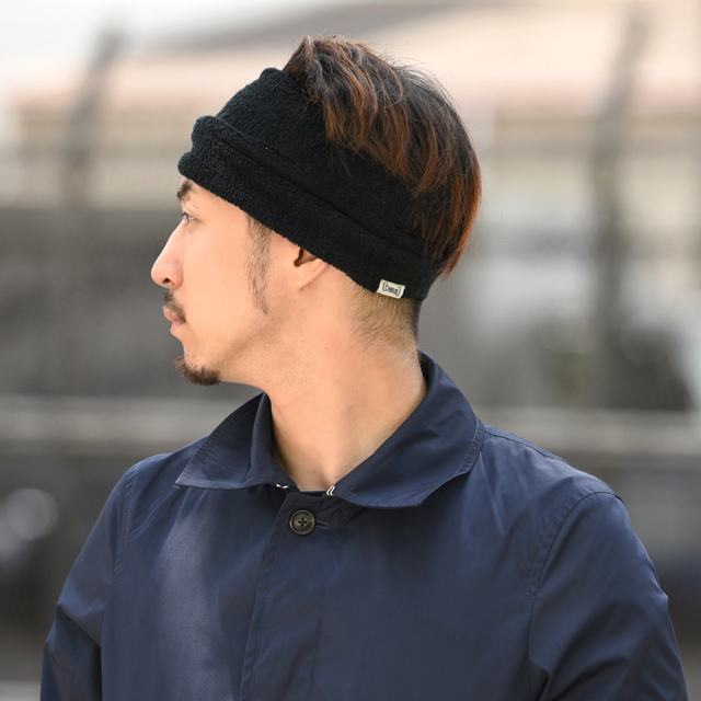 Tuck pile headband - An elastic sports headband made from towel material for yoga, outdoor fitness and activities - Made in Japan Elastic Headband Hairband Super Sweat Absorbent Sports Wide Antibactierial