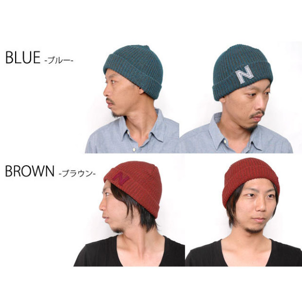 CasualBox: Knit hat not to choose from 7 colors other MIX ...