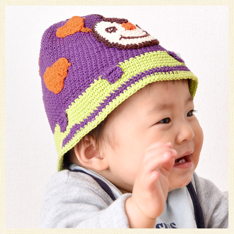 Cotton boys girls baby hats hats handmade heart charm kids brand name  Baby Hatch  handmade cotton Hat b797b193ffb2
