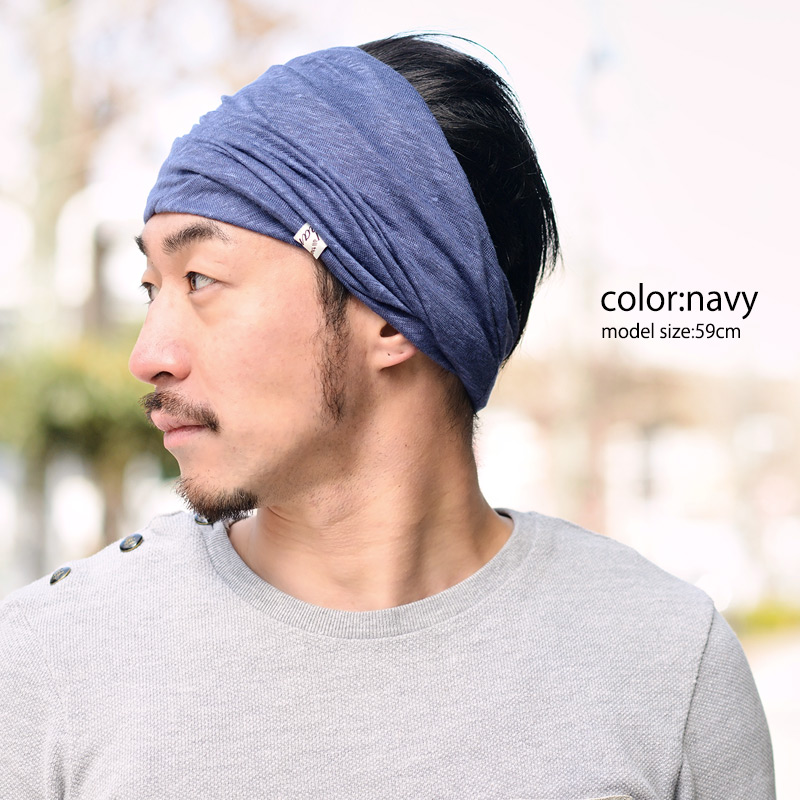 CasualBox  Linen T-cloth tornado turban headband  4a53fa560c9