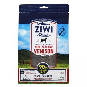 【2日エントリーでポイント2倍!】ZiwiPeak (ジウィピーク) エアドライドッグフード ベニソン 1kg 送料無料 犬 フード ドッグフード 犬用 キャットランド 【B】【D】
