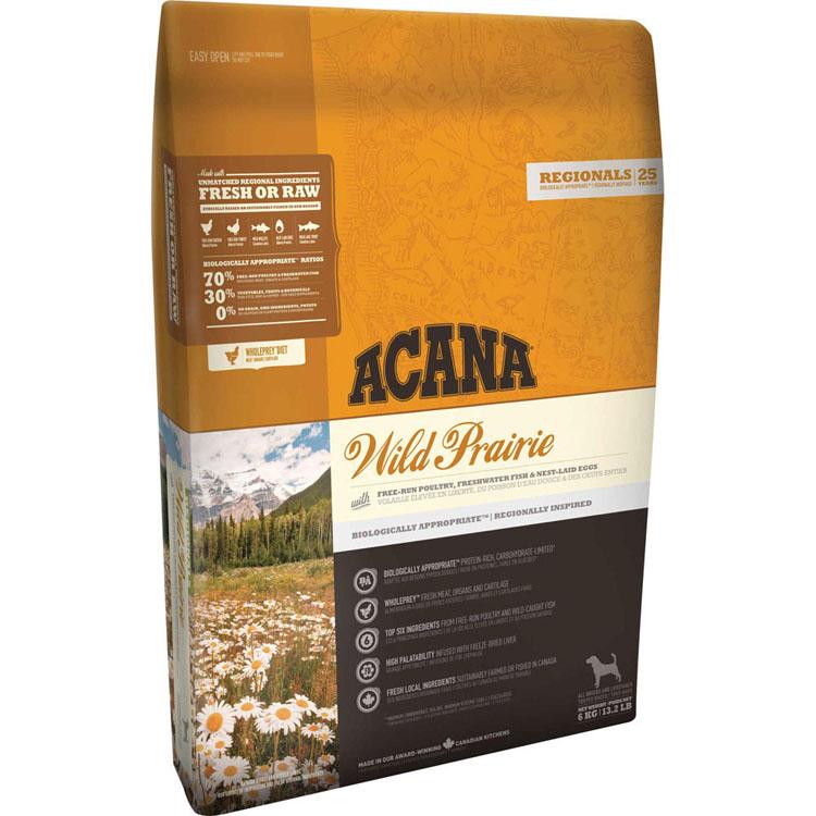 【1日エントリーでポイント最大5倍!】アカナ ワイルドプレイリードッグ 11.4kg 穀物不使用 全犬種用 送料無料 犬 フード ドライ ドッグフード ペットフード 穀物フリー グレインフリー ACANA キャットランド 【D】
