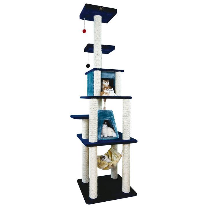 【エントリーでポイント最大7倍!】送料無料 キャットタワー 据え置き アーマーキャットアミューズ 猫 おもちゃ 猫タワー おしゃれ フォーユー 8301[AA] キャットランド【TC】