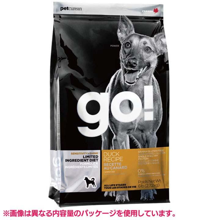 【エントリーでポイント最大7倍!】GO SS_ドッグ LID ダック 11.34kg 20302018送料無料 ドッグフード ドライフード 犬 ドライ グルテンフリー アレルギー ペットフード 穀物不使用 グローバルペットニュートリション 【D】