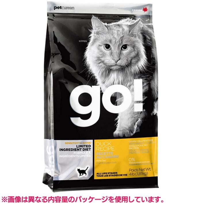 【エントリーでポイント最大7倍!】GO SS_キャット LID ダックキャット 7.25kg 20302520送料無料 キャットフード ドライフード ペットフード ドライ グルテンフリー アレルギー 猫 穀物不使用 グローバルペットニュートリション 【D】