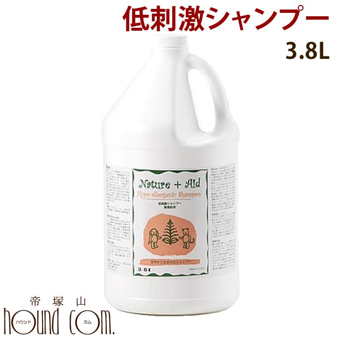 【送料無料】ネイチャーエイド 低刺激シャンプー 3.8L【犬用 シャンプー】