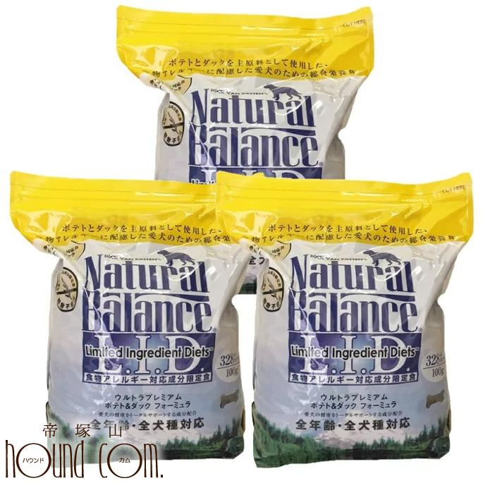 ナチュラルバランス 食いつき抜群 ドッグフード ナチュラルバランス ポテト&ダック ドッグフード 16.35kg 5.45kg×3袋 ナチュラルバランスまとめ買いおまけ付き 毎日の健康をささえるナチュラルバランス