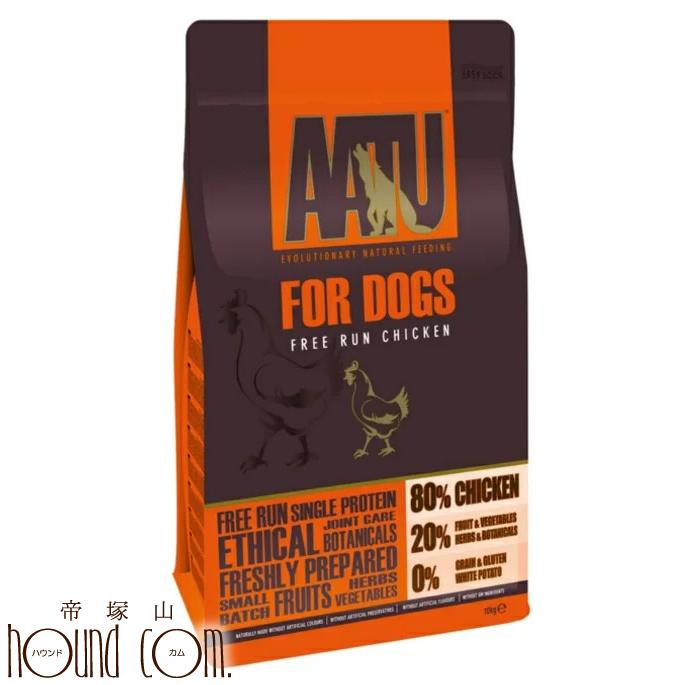 【送料無料】AATU(アートゥー) チキン10kg ドッグフード 【a0336】グレインフリー 乳酸菌 グルコサミン コンドロイチン配合 穀物不使用